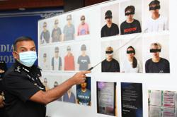 Teen, 15, among 18 suspected scammers arrested by Johor police