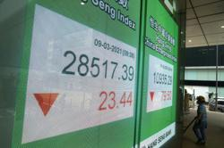 Asian shares trade mixed on recovery hopes, yield worries
