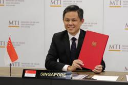 Singapore's bilateral investment treaty with Indonesia enters into force