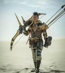 Action man Tony Jaa says it was tough to fight CGI beasties in 'Monster Hunter'