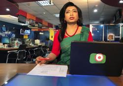 Bangladesh TV hires country's 1st transgender news anchor