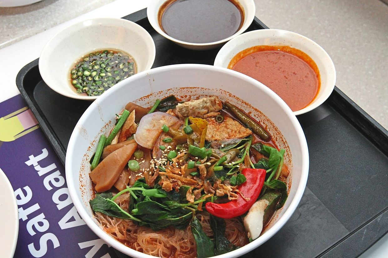 At Malaysian Cuisine Yong Tau Foo, try signature dishes such as mix yong tau foo with tom yam soup.