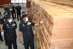 Smuggling ops smoked out by marine police