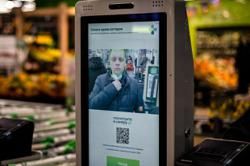 Russian retailer launches facial recognition payment system