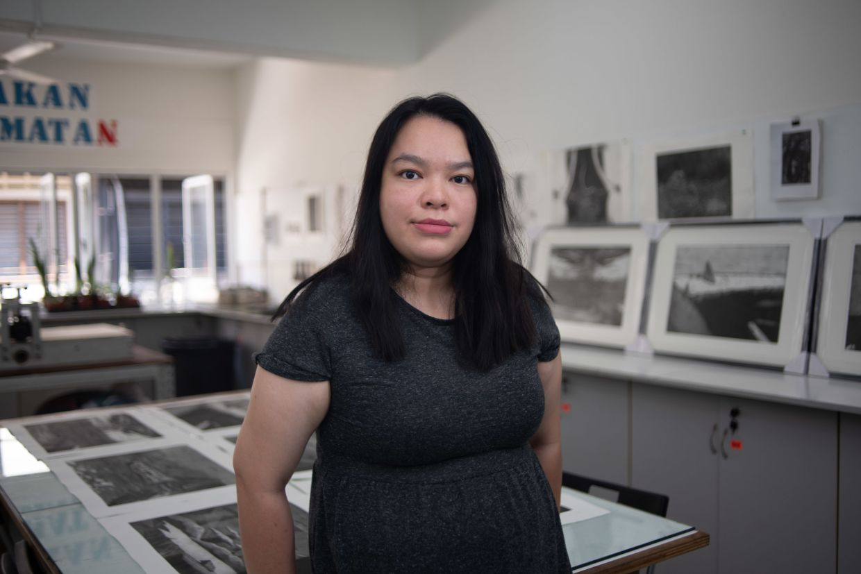 'Using printmaking and imagination as my medium of raising awareness, I take to the paper to express my sentiments and reflections on climate change and ecological calamity,' says Tan. Photo: Handout