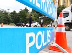 Police roadblocks at Sungai Besi and Jalan Duta toll plazas removed to ease traffic flow