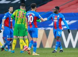 Relegation-threatened West Brom lose 1-0 to Palace