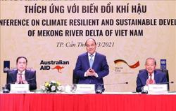 Vietnam seeks ways for climate-resilient, sustainable development of Mekong Delta