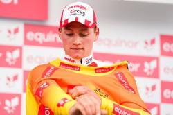 Van der Poel powers to solo stage win as Pogacar extends Tirreno lead