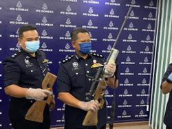 Man nabbed for possession of air rifle