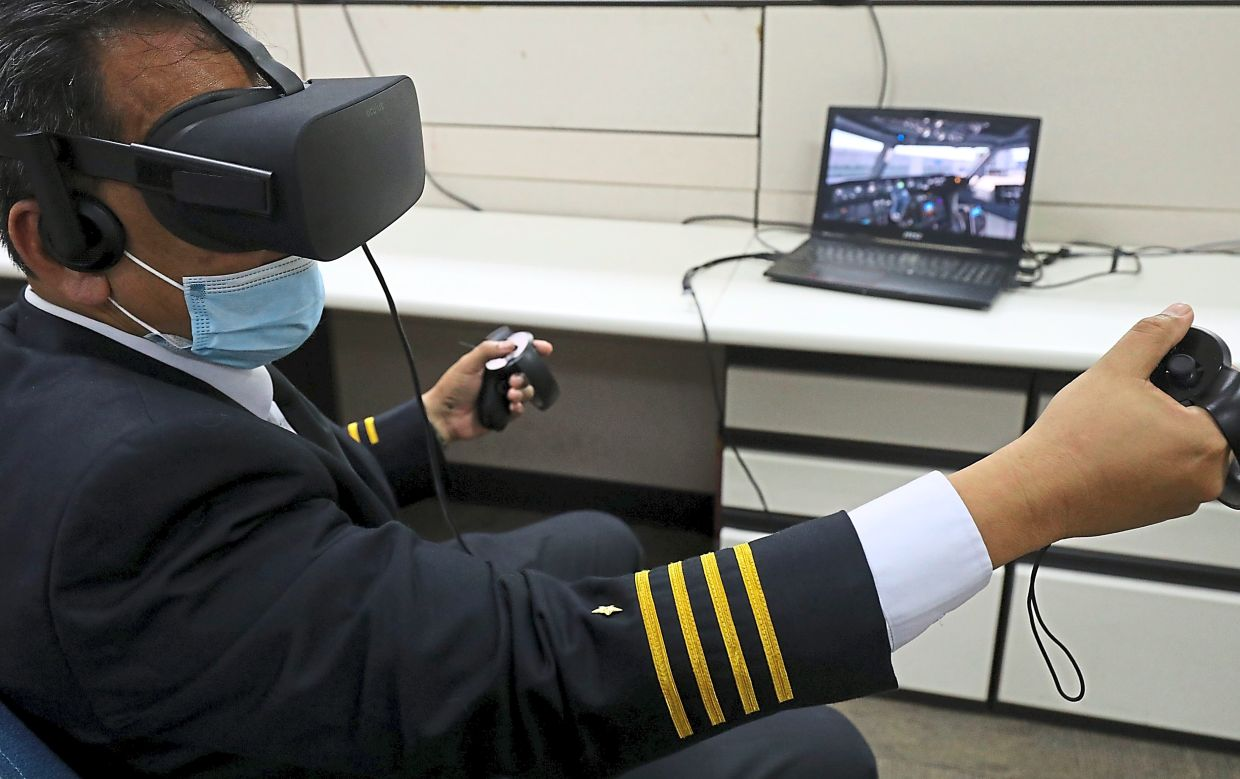 Rohaizan said the airline is developing virtual reality training for pilots and cabin crew.