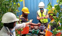 SPAN finds illegal water pipe connection at KL worksite