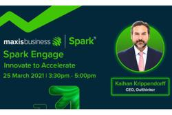 Maxis Spark Engage virtual forum on March 25