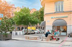 Sweden is turning parking bays into places to play, meet, relax and more
