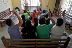 Policemen, firemen among over 400 Myanmar nationals seeking shelter in India