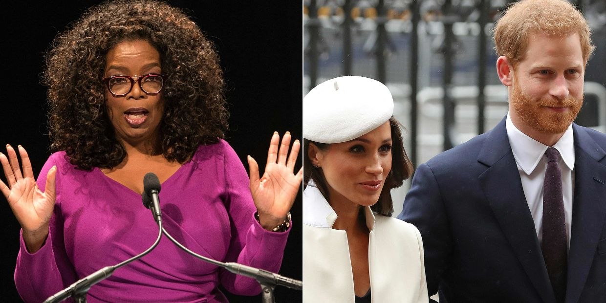 During the interview with Winfrey, Meghan and Harry spoke about feeling unsupported by British officials before they stepped away from their senior roles last year and moved to California. Photo: AFP