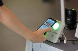 New system lets you tap phone or token to check in