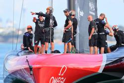 Team New Zealand savour America's Cup triumph in home waters