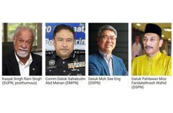 PENANG YANG DI-PERTUA NEGRI'S 82ND BIRTHDAY HONOURS LIST 2020