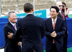 Focus: Battling for batteries: Two Korean companies court Washington