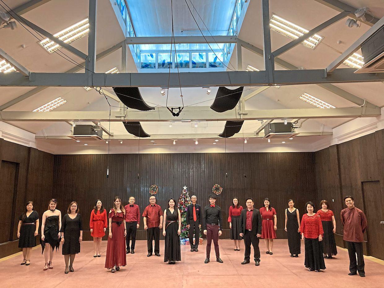 The Penang Philharmonic Chorus at the 'PPO Christmas Extravaganza' virtual concert last December.