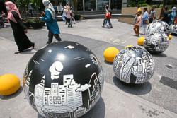 Security bollards in city centre serve dual purpose, says DBKL