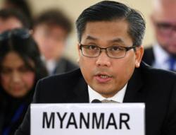 Ousted Myanmar lawmakers consider International Criminal Court: UN envoy
