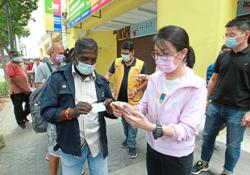 MCA Youth: Manually register homeless for jabs