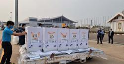 UN's AstraZeneca Covid-19 vaccines donation arrives in Laos