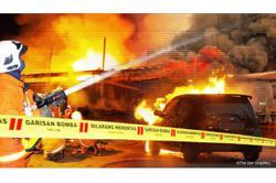 74 made homeless in Labuan blaze