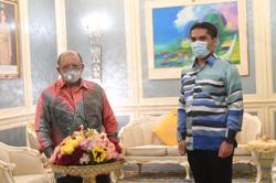 Raja of Perlis grants audience to Education Minister