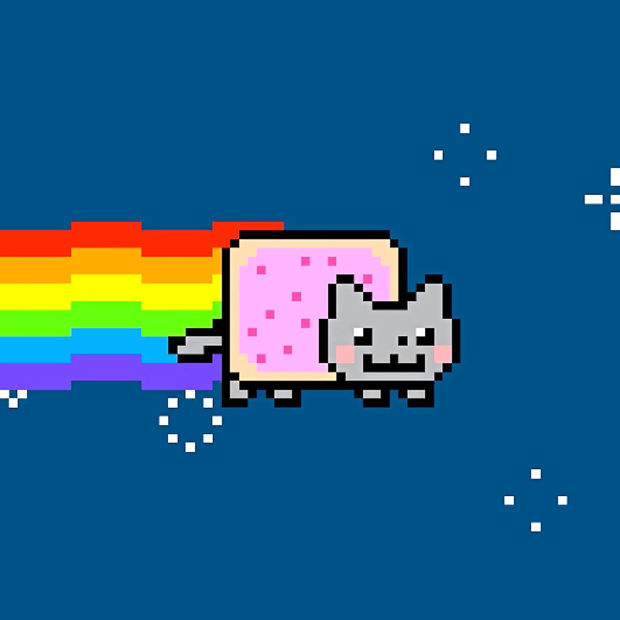 Last February, a NFT for iconic GIF Nyan Cat fetched almost US$600,000 (RM2.4mil) in an online action. — AFP Relaxnews