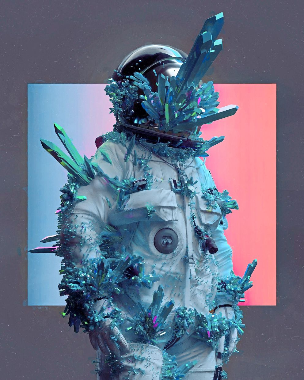 An image form the collage Everydays: The First 5000 Days by digital artist Beeple. — Reuters