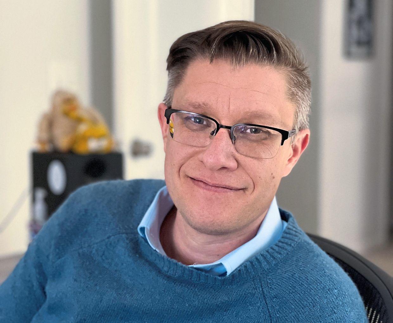 Mike Winkelmann, the American artist known as Beeple, is a pioneer of the exploding virtual art market. — SCOTT WINKELMANN/AFP