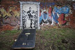 New mural shows Marcus Rashford kicking down Downing Street door