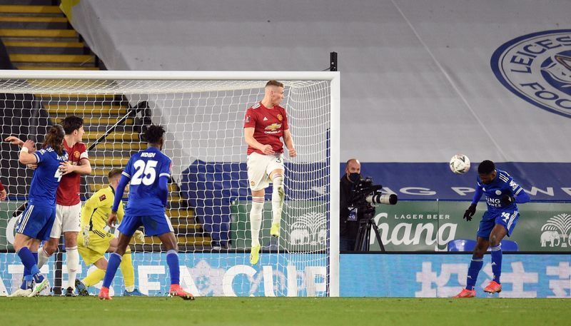 Football: Leicester out-class Manchester United to reach FA Cup semis | The  Star
