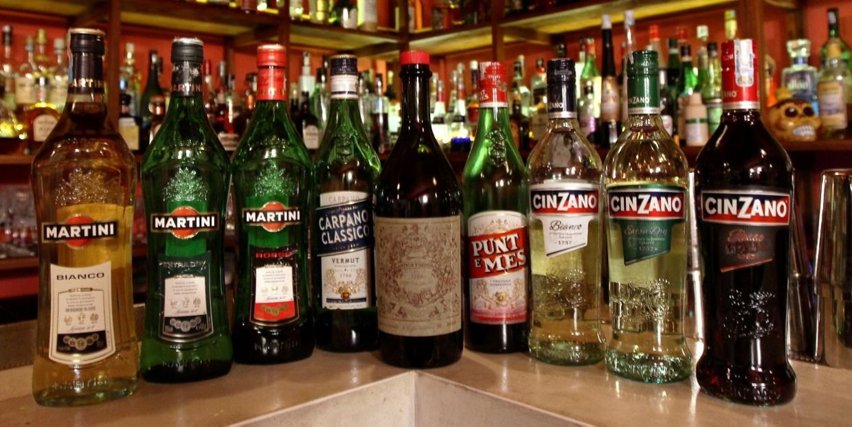 Martini and Cinzano are some of the more common brands of vermouth in the market.