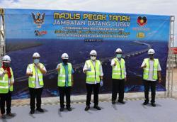 Batang Lupar bridge a vital link to connect Sarawak's coastal areas, says CM