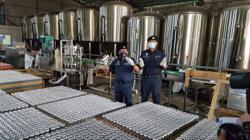 Customs busts illegal brewery, seizes 59,104 litres of beer