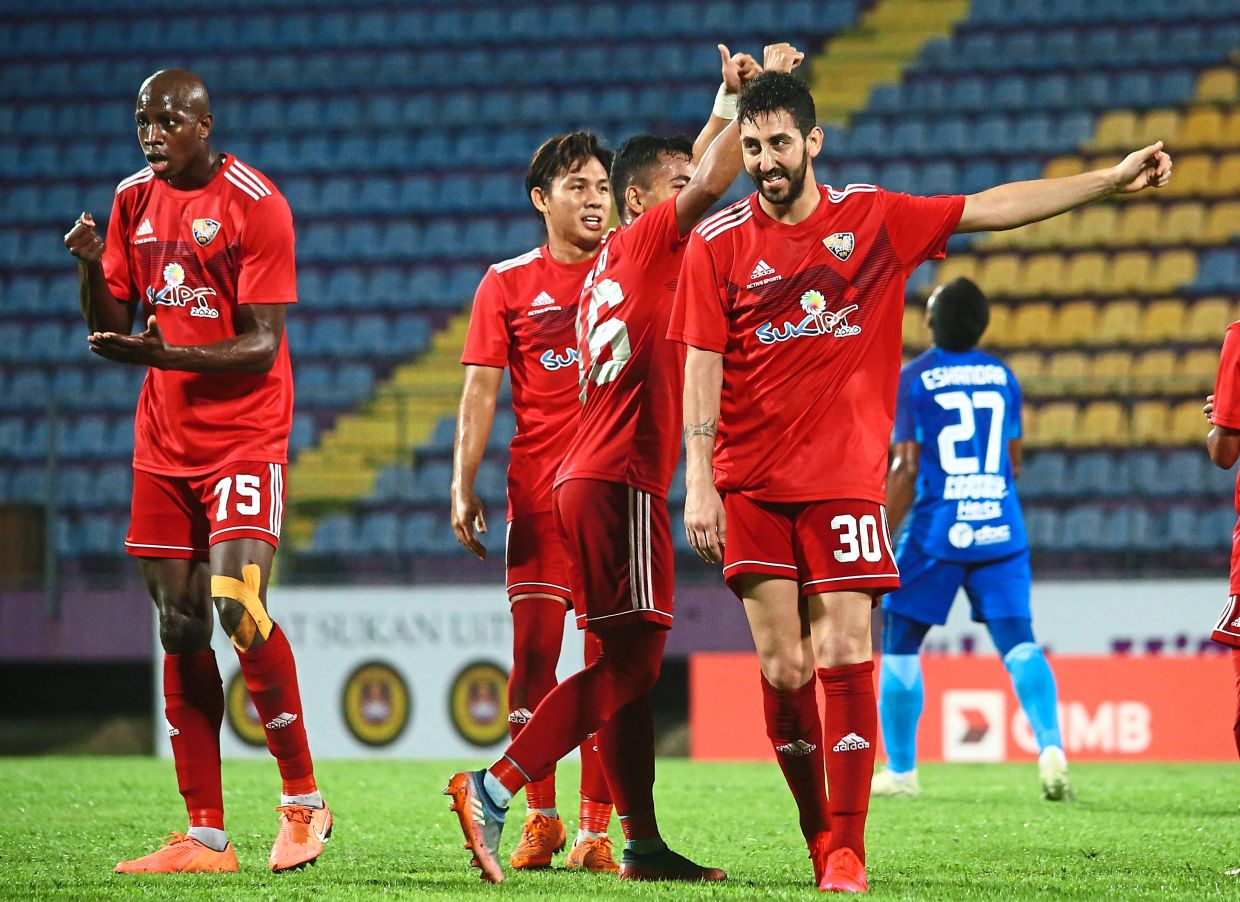 The provider: Rabih Ataya (right) is proving his worth as a playmaker for Kedah in the Super League so far.
