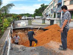 Report problems quickly, says Bukit Kepayang rep