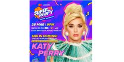 Katy Perry and NCT Dream to headline Lazada Super Party on March 26