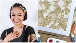 Malaysian singer Atilia Haron chooses batik for her first fashion line