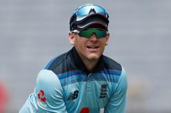 Cricket-England captain Morgan out of India ODIs with hand injury