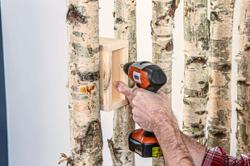 Quick and simple DIY birch tree furniture ideas