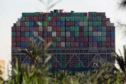 Suez Canal blockage adds strain to global supply chains