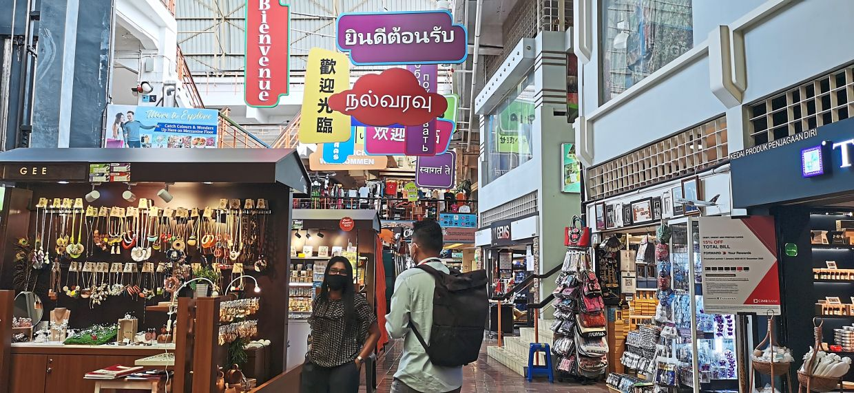 Some city folk have chosen to visit the iconic Central Market for sightseeing. — Filepic