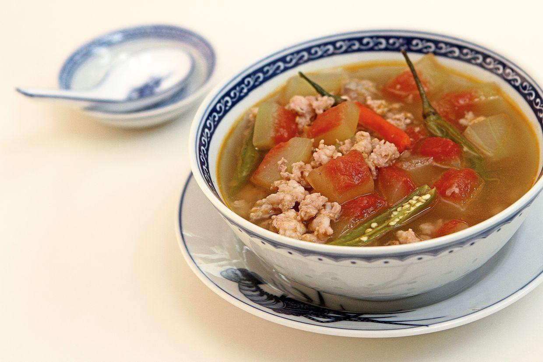 Masak titik features watermelon rind as its main ingredient.