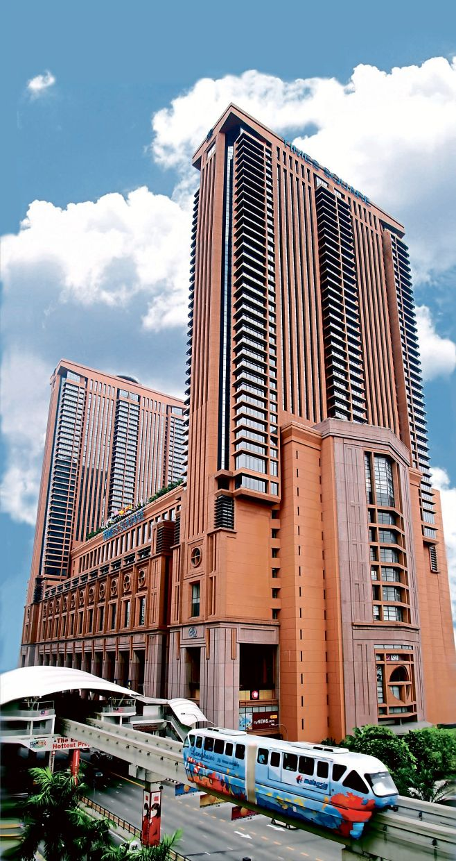 Strengthening operations: Berjaya Times Square, which houses BCorp's headquarters. The group is in a period of consolidation to sweat its assets better and enhance its value.