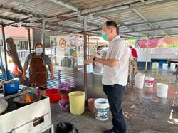 Roof will be fixed, hawkers assured